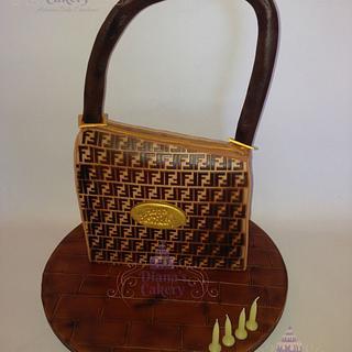 Fendi Handbag Cake