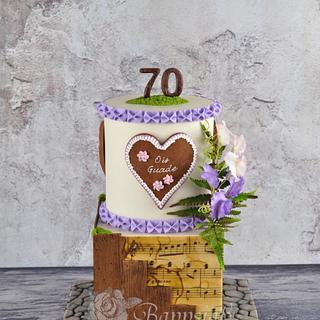 Bavarian-Birthday-Cake