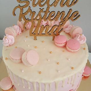 Christening cake - Cake by LanaLand