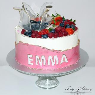 ... meringue cream for emma ...