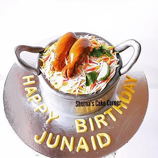 Biryani cake  - Cake by Shorna's Cake Corner