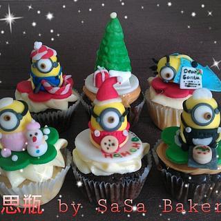 Merry Minionmas - Cake by SaSaBakery