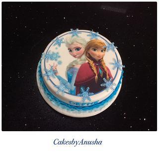 Frozen cake. - Cake by CakesbyAnusha