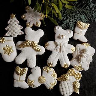 White Gingerbread Cookie