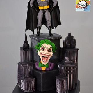Batman - COMICAKE collaboration 2015 - Cake by Verónica García