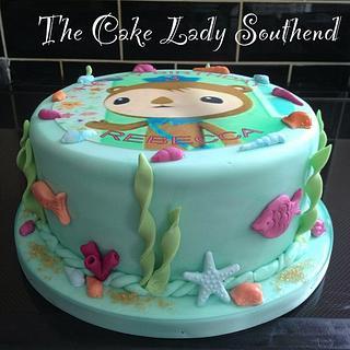 Octanauts cake
