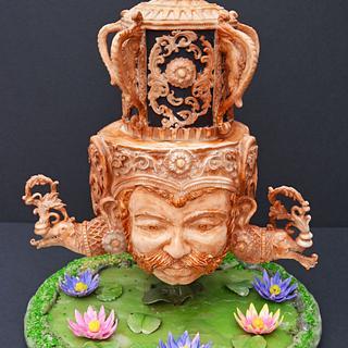Garra Yakka -Devil Mask - Cake by Seema Acharya