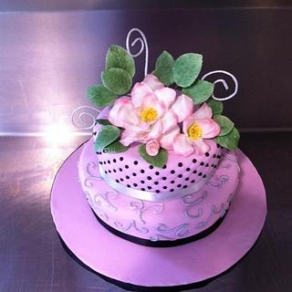 My rose cake