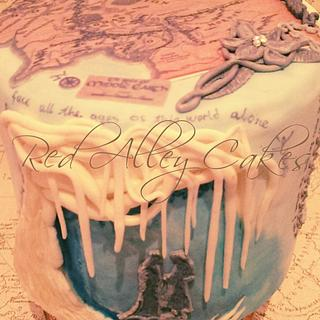 Arwens Heart - Cake by Red Alley Cakes (Alison Rankin)