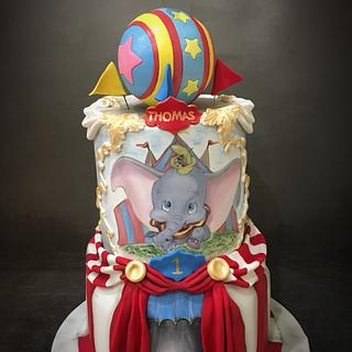 Dumbo Circus 1st Birthday