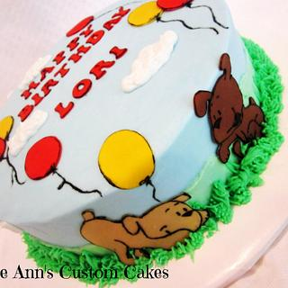 Puppies & Balloons - Cake by RuthieAnn