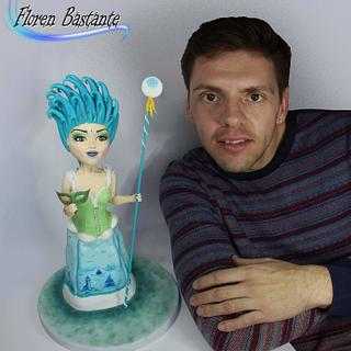 Goddess of the Sea - sweet World carnival - Cake by Floren Bastante / Dulces el inflón