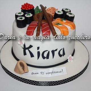 sushi cake - Cake by Daria Albanese