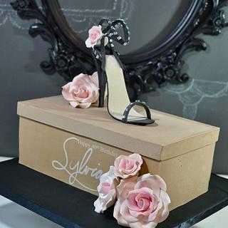 Sexy High Heeled Shoe Cake