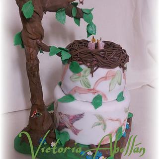 Gafarrón mom - Cake by Victoria Abellán