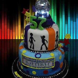 Disco Dance - Cake by MsTreatz