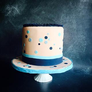 Simple Boy's Birthday Cake
