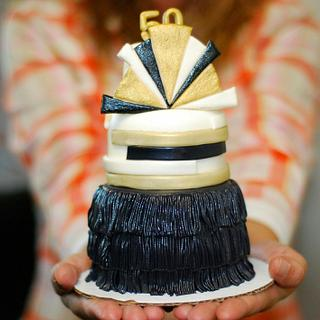 Mini Roaring Twenties Cake