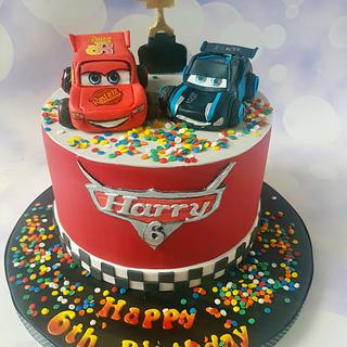 Another Cars cake