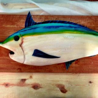 Blue Marlin Cake