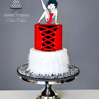 Naughty or Nice?? - Cake by Sandy Lawrenson - Sweet 'n  Sassy