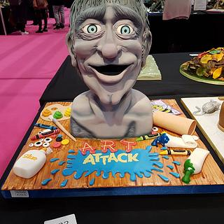 Art Attack 'The Head' Cake