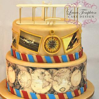 Vintage light Cake