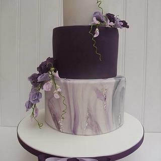 Sweetpea Wedding cake