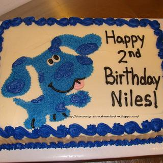 Blue's Clues Cake - Cake by T. M. Evers