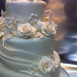 Roses & Diamonds - Cake by lanett