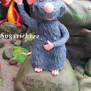 Remy, (Ratatouille) - Up close and personal - Cake by Sugarwhizz