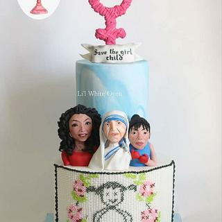 Venus - Save The Girl Child Cake Collaboration