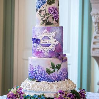2018 wedding cake trends collaboration