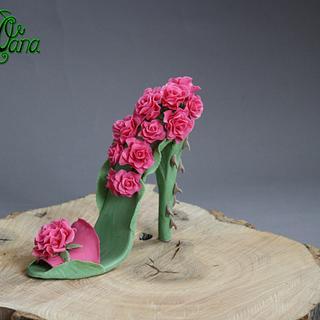 Zapatos/shoe challenge  - Cake by cakesbyoana