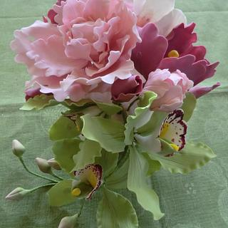 Bouquet   - Cake by MariaDelleTorte