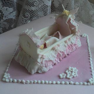 Pretty Cot for a Cake