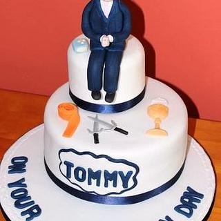 Communion cake - Cake by Deelicious Cakes