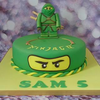 Ninjago cake. - Cake by Karen's Cakes And Bakes.