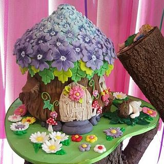 Fairy Cottage - Cake by ellepik