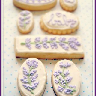 Soft Lavender Cookies