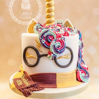 Harry Potter Unicorn Cake