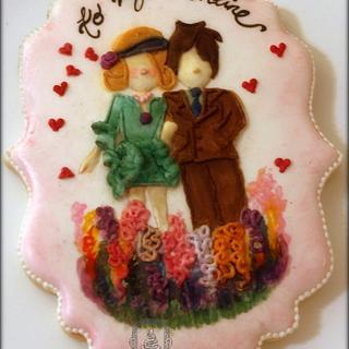 Art to Cookie. - Cake by Sweet Dreams by Heba
