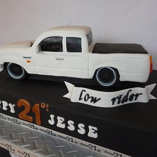 Ford Courier Vehicle 21st Cake