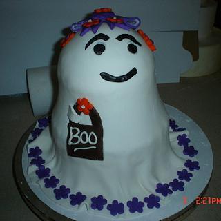 Ghost Diva cake - Cake by Dana