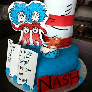 Cat in the Hat - Cake by The Cakery