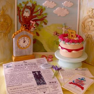 Nursery crimes !  - Cake by Lynette Horner