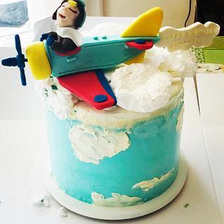 Flying High Little Guy - Cake by Bombshell Bakes