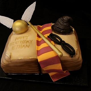 Harry Potter Book cake - Cake by Jewell Coleman