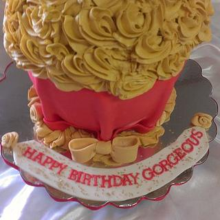 Giant Cupcake - Cake by lcressel
