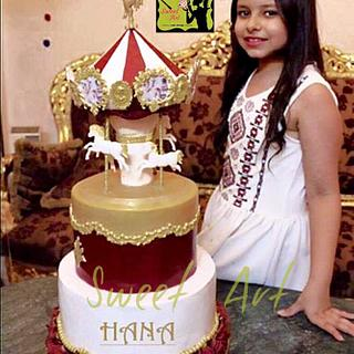 carousel cake - Cake by Sweet Art